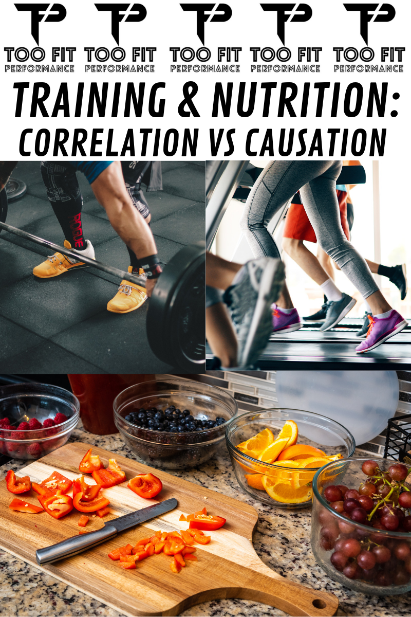 Training & Nutrition: Correlation VS. Causation