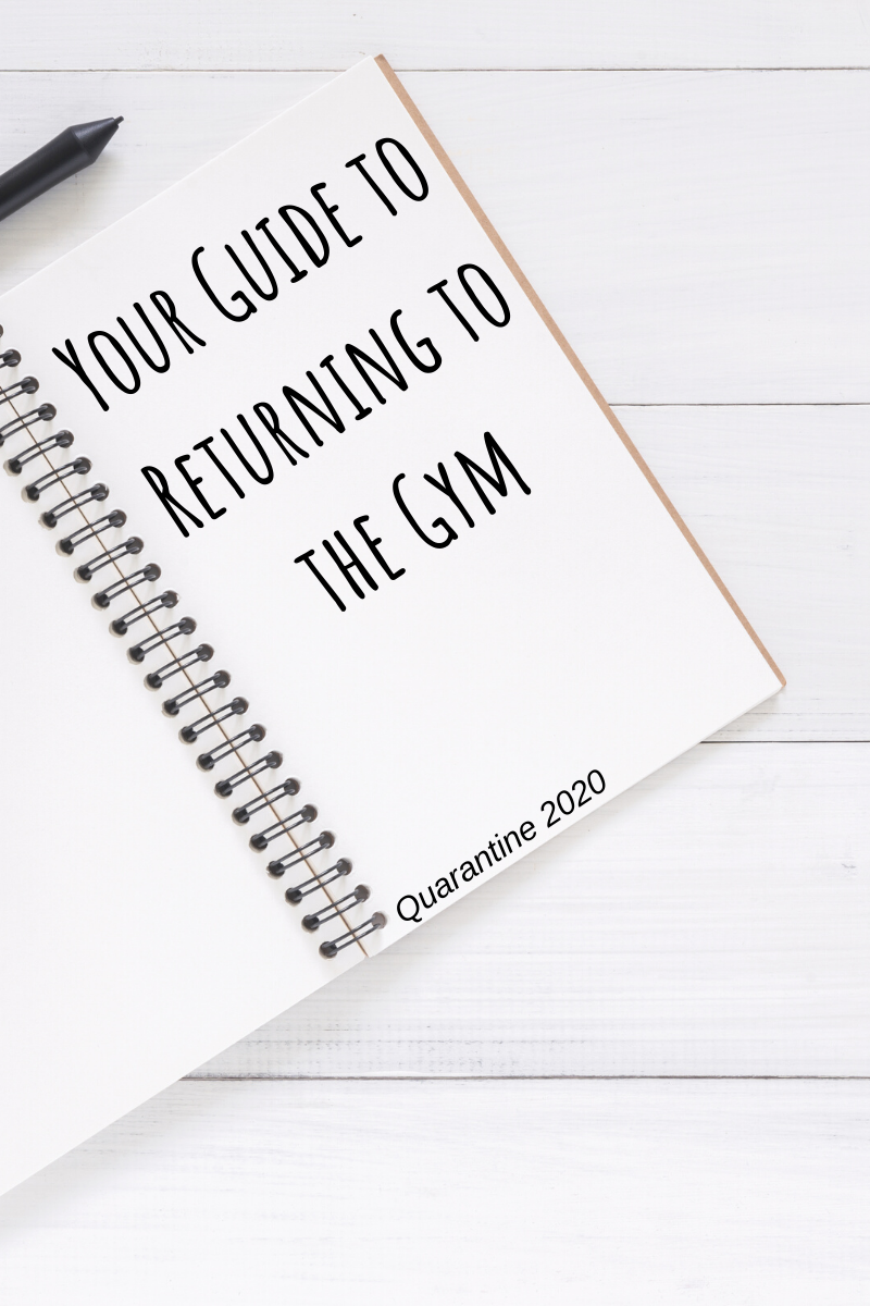 Your guide to returning to the gym