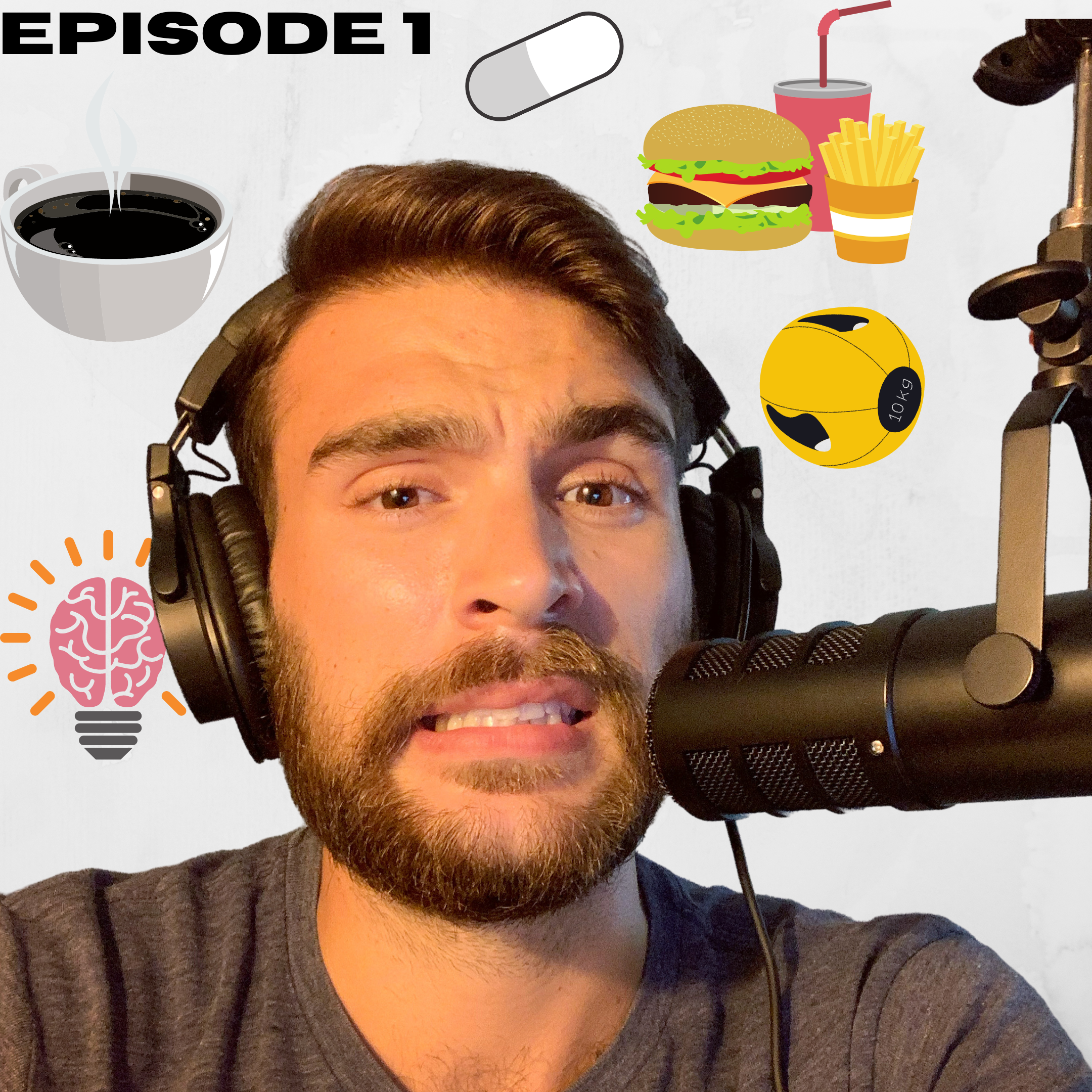 Ep.1 – Q+A: Focus & Energy Supplements, Refeed Meals vs. Balanced Eating, Sleds and Concentric Training, Mindset for Change