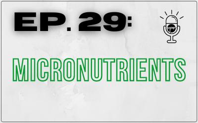 Ep. 29: Micronutrients